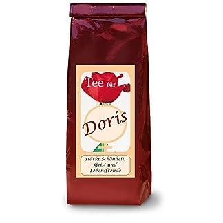 Doris-Namenstee-Frchtetee