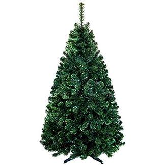 QLS-Hochwertiger-knstlicher-Weihnachtsbaum-Tannenbaum-Kiefer-Lux-Christbaum-in-grn-mit-Stnder