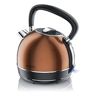 Arendo-Wasserkocher-EdelstahlTeekessel-Retro-Style-max-2200W-Herausnehmbareraustauschbarer-Kalkfilter-Fllmenge-17-Liter-automatische-Abschaltung-Modell-2019-mit-GS-Kupfer-Design