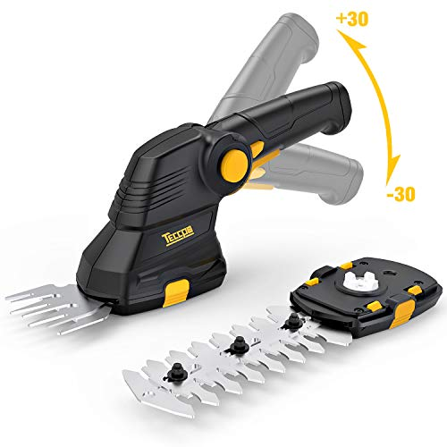 Akku-Grasschere-TECCPO-36V-15Ah-Akku-Strauchschere-USB-Ladekabel-2-in-1-Schneller-Werkzeugloser-Schalter-Drehgriff-Ideal-fr-Garten-TDGS01G