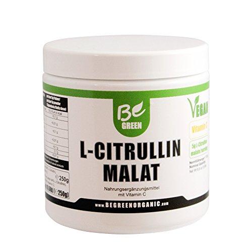 Be Green – Vegane L-Citrullin Malat plus Vitamin C – Begreen 250g