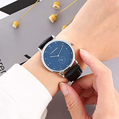 Lederband-Uhren-Luxusuhr-Art-und-Weisebeilufige-Quarz-analoge-Armbanduhr-fr-Mnner-Javpoo