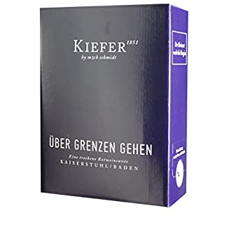 Friedrich-Kiefer-KG-BIB-Rotweincuve-trockenber-Grenzen-gehenQbA-3-Liter-300-Liter