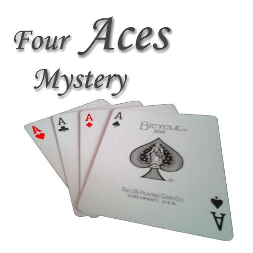 Four-Aces-Mystery-Spektakulrer-Kartentrick-Zaubertrick-Zauberartikel