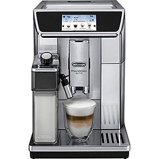DeLonghi-ECAM65075MS-Prima-Donna-Elite-Kaffeevollautomat-Edelstahl-TFT-Touch-Screen-Farbdisplay15-bar-Pumpendruck-silber-470-x-260-x-360-mm