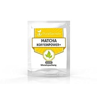 Matcha-Koffeinpower
