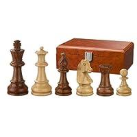 Philos-2066-Schachfiguren-Sigismund-Knigshhe-95-mm-gewichtet-in-Figurenbox