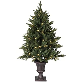 LED-Tannenbaum-Byske-ca-120-x-66-cm-80-warmwhite-LED-antikbrauner-Topf-mit-Trafo