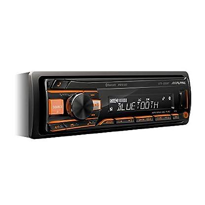 Alpine-Electronics-UTE-200BT-Autoradio-Bluetooth-1DIN-Schwarz-RGB-Beleuchtung