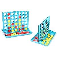 Bingo-Line-Up-4-Klassiker-Logikspiel-HUKITECH-Logik-Spiel-Familienspiel-Denkspiel-fr-Kinder-und-Erwachsene-Partyspiel-mit-hohem-Spafaktor