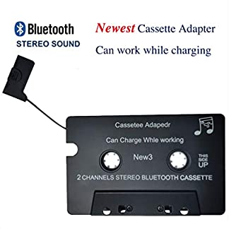Kabelloser-iTape-Adapter-fr-Kassettenrecorder-Luft-Whrend-dem-Laden-Bluetooth-V40-EDR-Stereo-Audio-Empfnger-Adapter-fr-Auto