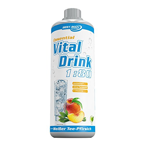 Best Body Nutrition Essential Vital Drink (Weißer Tee-Pfirsich) 1er Pack (1 x 1 liter)