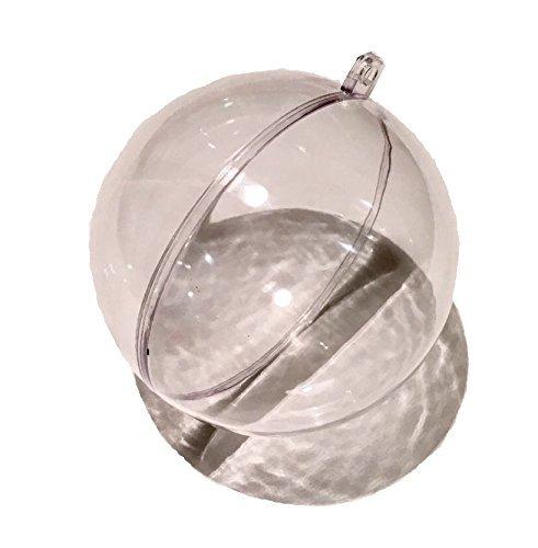 CRYSTAL-KING-25-Stck-Acrylkugeln-Set-6cm-5cm-4cm-Durchmesser-durchsichtige-Kugel-zum-Aufhngen-Acrylformen-Formen-zum-Befllen-Aufhngen-Weihnachtsbaum-Kugel-zum-selbst-befllen-Acryl-Kugel