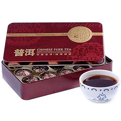 Klebreis-Riechstoff-Dose-Verpackung-Puer-Tee-Puerh-Tee-Schwarzer-Tee-15-Stck-Nettogewicht-75g-0165LB-Puer-Tee-Chinesischer-Tee-Pu-er-Tee-Reifer-Tee-Pu-erh-Tee-Pu-erh-Tee-gekochter-Tee-Roter-Tee