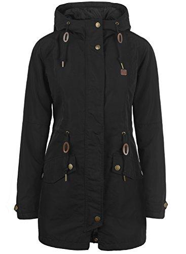 DESIRES Sakura Damen Übergangsjacke Jacke mit Kapuze aus winddichter und hochwertiger Materialqualität