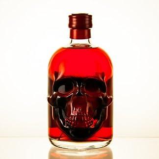 Dr-Chili-Roter-Absinth-Red-Chili-Totenkopf-Flasche-05l-Spirituosen-Schnaps-mit-35mg-Thujon-und-eingelegter-Chilli-Alkohol-Geschenke-fr-Mnner-und-Frauen