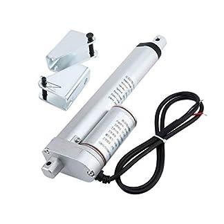 Meganolga-Anschlag-Elektrische-Stostange-150MM-DC-Stostangen-Motor-mit-Hochleistungs-Linearantriebs-Klammer-fr-industrielles-landwirtschaftliche-Maschinerie-Bau