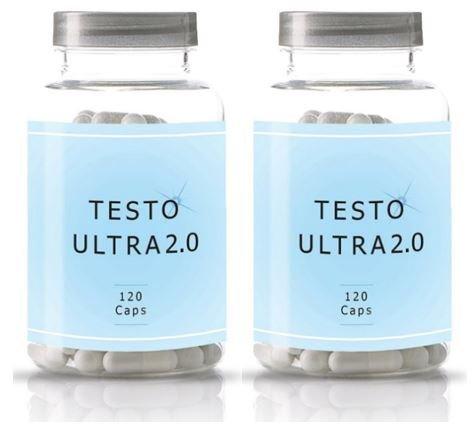 TestoUltra 2.0 | 2 X 120 Kapseln = 240 Kapseln | Tribulus Terrestris Für Mehr Lust Und Ausdauer | Schnell Und Einfach die Potenz steigern | Natürliche Erektionshilfe