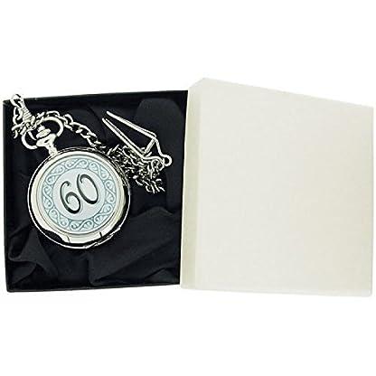 Boxx-m506131–Taschenuhr-Metallarmband-Silber