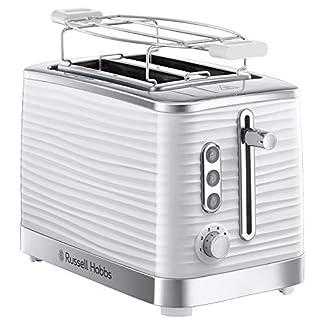 Russell-Hobbs-24370-56-Toaster-Inspire-White-Lift-and-Look-Funktion-bis-zu-6-einstellbare-Brunungsstufen-extra-breite-Toastschlitze-Brtchenaufsatz-weiss