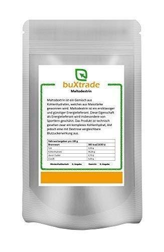 1 kg Maltodextrin – Malto Dextrin Zucker Kohlenhydrate rein