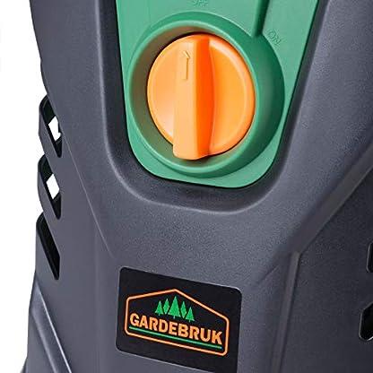 Hochdruckreiniger-8m-Hochdruckschlauch-135-bar-Aluminiumpumpe-1800-Watt-Klicksystem-5m-Netzkabel-Reinigungsset