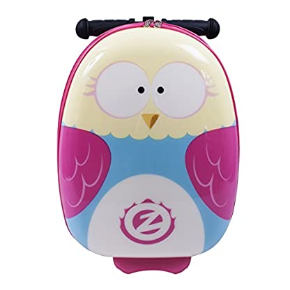 itsImagical-89355-Owl-Olivia-die-Eule-Flyte-Case-Scooter-Rose-Carry-On