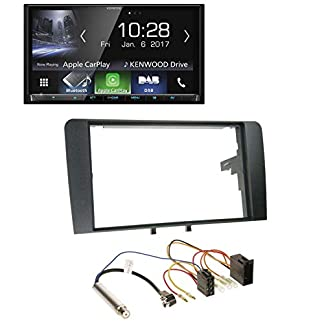 Kenwood-DMX7017DABS-Bluetooth-DAB-MP3-USB-2DIN-Autoradio-fr-Audi-A3-8P-2003-2006-ISO