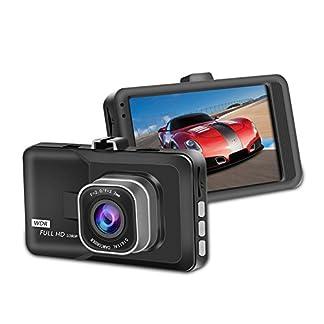 KOBWA-Fahren-Recorder-Auto-Dash-Cam-Kamera-FHD-1080P-Fahren-Recorder-170–Weitwinkel-Nachtsicht-mit-Rear-Cam-WDR-G-Sensor-Bewegungserkennung-Parkplatz-berwachung-Loop-Recording