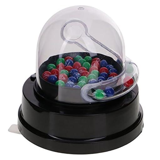 Sharplace-Mini-Elektrische-Glckszahl-Maschine-fr-Lotterie-Bingo-Spiel