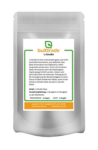 L-Citrullin Base – rein | Aminosäure | ohne Malat VERSCHIEDENE GRÖßEN