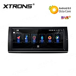 XTRONS-1025-Android-Autoradio-mit-Touchscreen-Android-80-Octa-Core-Auto-Autostereo-untersttzt-3G-4G-Bluetooth-4GB-RAM-32GB-ROM-DAB-OBD2-TPMS-Lenkradfernbedienung-FR-BMW-E53