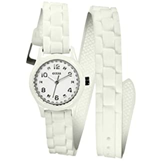 Guess-Unisex-Armbanduhr-Analog-Quarz-Silikon-W65023L1