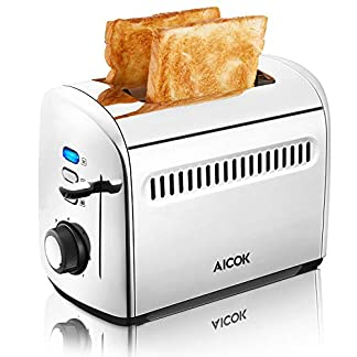 Aicok-Toaster-Toaster-2-Edelstahl-Slots-Toaster-mit-Entfrostungsmodus-7-Farbwhler-950-W
