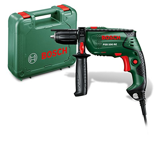 Bosch-Schlagbohrmaschine-PSB-500-RE-500-Watt-im-Koffer