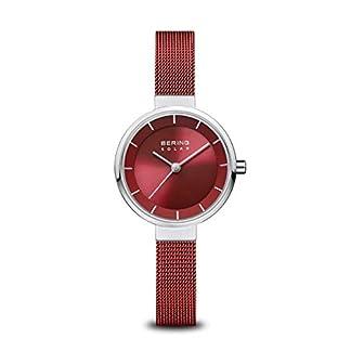 BERING-Damen-Analog-Solar-Uhr-mit-Edelstahl-Armband-14627-303