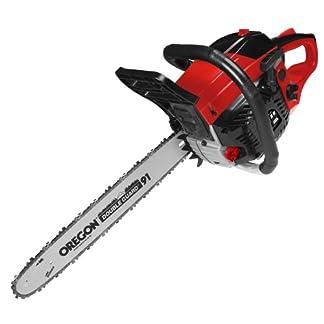 Matrix-320450170-Benzin-Kettensge-18-kW-2-Takt-Schnittlnge-420mm-Oregon-Schwert-und-Kette-Walbro-Vergaser-Schnellstart-rot-schwarz