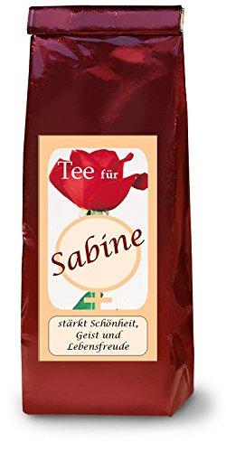 Sabine-Namenstee-Frchtetee