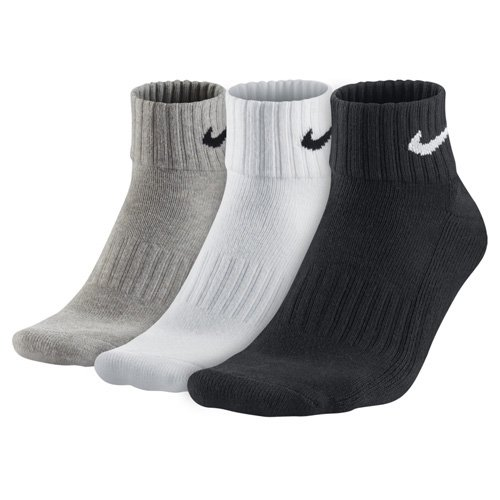Nike One Quarter Socks 3PPK Value