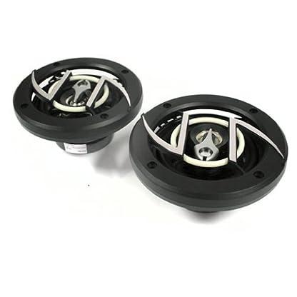 auna-408-Auto-Lautsprecher-Autoboxen-Einbaulautsprecher-Paar-Einbau-Ablage-schwarz