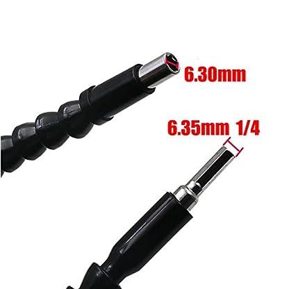 2-flexible-Schaft-300-mm-305-cm-Schraubendreher-Power-Bit-Bohrer-Verlngerung-1102-cm-Sechskant-Schaft