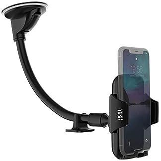 YOSH-Handyhalter-frs-Auto-297mm-lange-Halterungarm-fr-Windschutzscheibe-KFZ-Halterung-universal-Handy-bis-zum-65-Zoll-passende-fr-iPhone-XSXS-MaxXRX876-Samsung-S9S8S7S6-Huawei-P20-lite