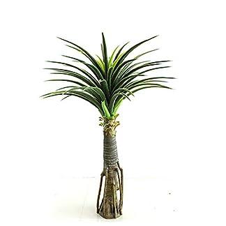 TRDT-Knstlicher-Ananasblatt-Bume-Hhe-110cm-Hochwertige-Knstlicher-Pflanze-ohne-Becken
