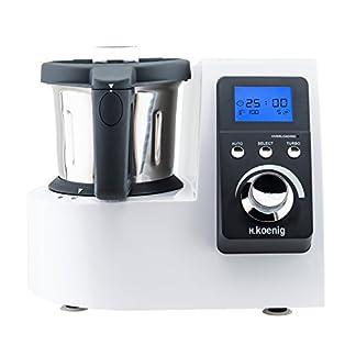 HKoenig-HKM1032-Kchenmaschine-mit-Kochfunktion-Temperatur-von-0-bis-120-C-Edelstahlschssel-25-L-Splmaschinenfest-1300-W-Kochleistung