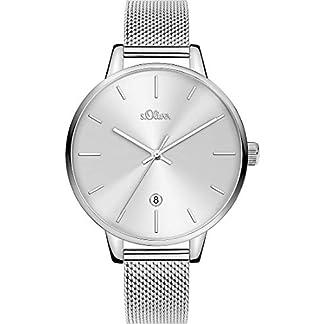 sOliver-Damen-Analog-Quarz-Uhr-mit-Armband