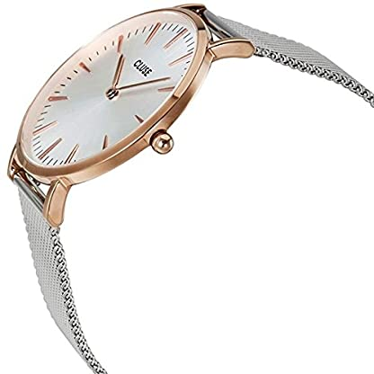 Cluse-Damen-Armbanduhr-Analog-Quarz-Edelstahl-CL18116