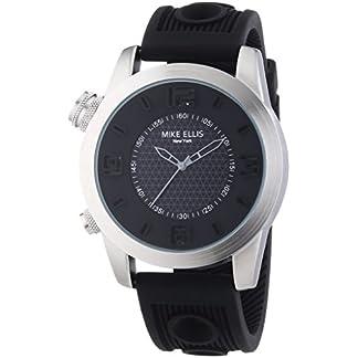 Mike-Ellis-New-York-Herren-Armbanduhr-XL-ane-Analog-Quarz-Silikon-SL4315