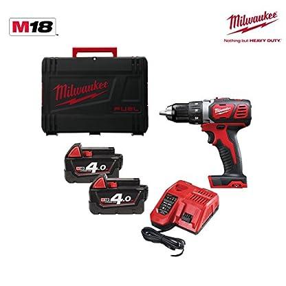 Milwaukee-M18-bdd-402-X–Einfache-Kabellose-Bohrmaschine-18-V4-A