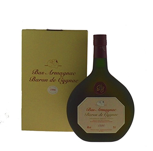 Raritt-Armagnac-Baron-de-Cygnac-07l-Jahrgang-1990-inkl-GP