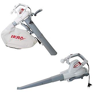 IKRA-Elektro-3in1-Laubsauger-Laubblser-Laubhcksler-ILS-3000-E-inkl-Fangsack-45l-Blasgeschwindigkeit-300-kmh-3000W